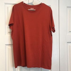 Lands end women's relaxed fit tee size large